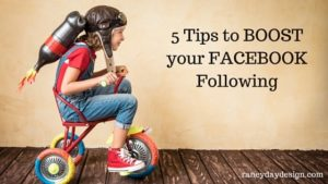 5 Tips to boost your facebook following