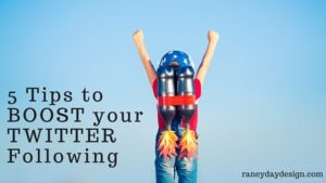 5 Tips to BOOST your TWITTER Following