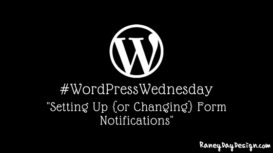 WordPress Wednesday Tip 16
