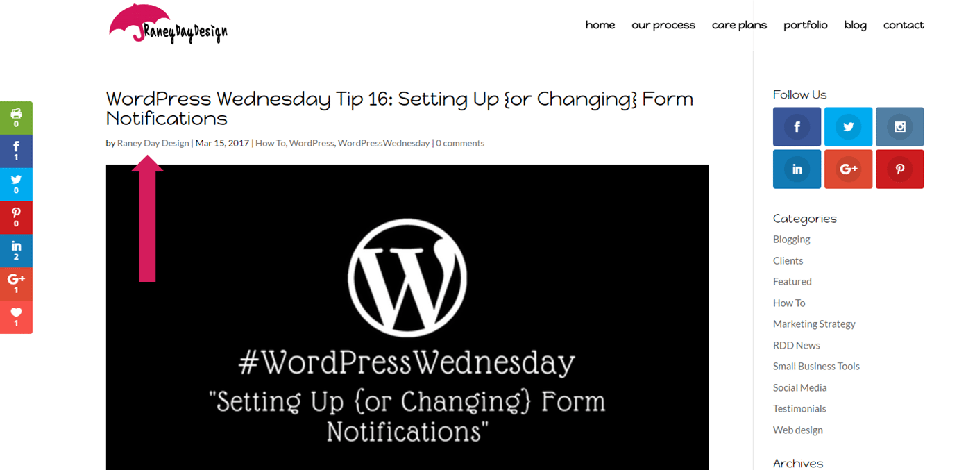 WordPress Wednesday Tip 17
