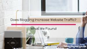 does blogging increase website traffic