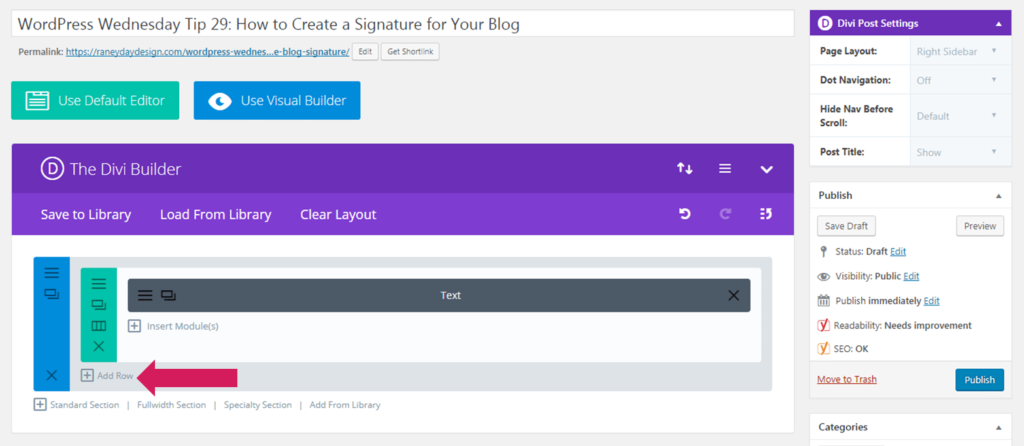 How to add a Signature to your wordpress blog