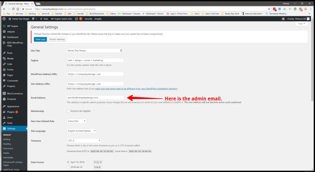 WW Admin Email Step 3