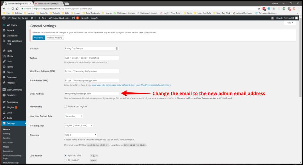 WW Admin Email Step 4