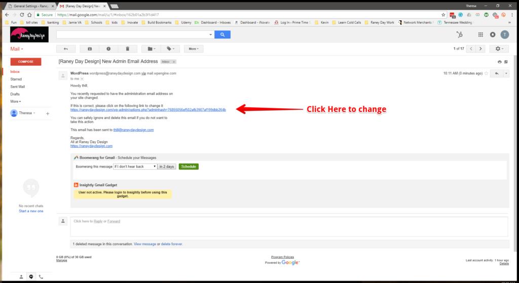 WW Admin Email Step 7