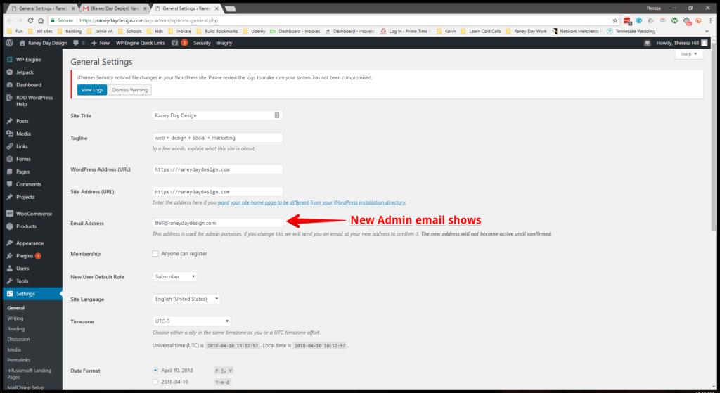 WW Admin Email Step 8