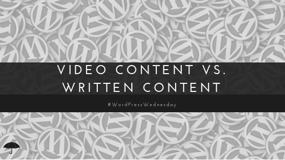 video content vs written content
