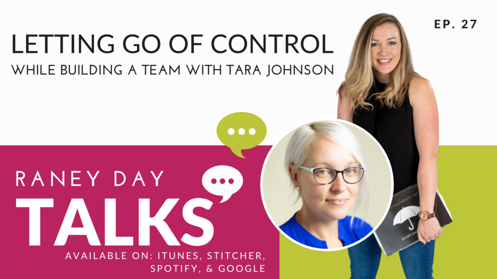 Letting Go of Control Podcast Episode