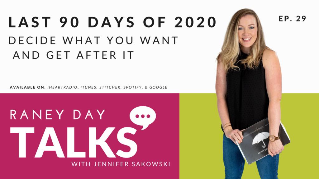 Last 90 Days of 2020